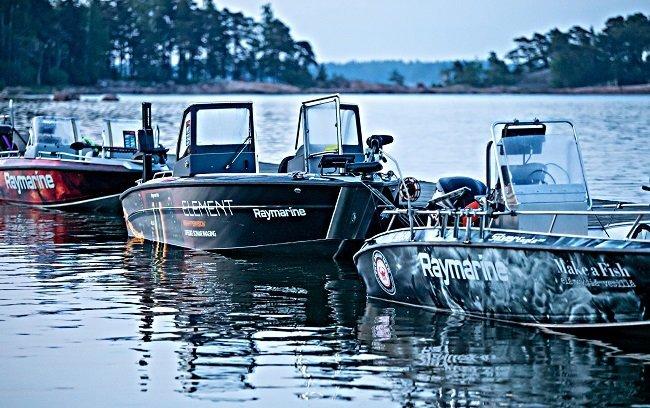 Raymarine-Echolote-Fischfinder