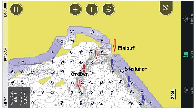 Garmin_Striker_Cast_quick_draw_fishing_map