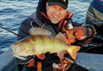 Jan Pusch Angelschule Nord - (yellow) perch fishing